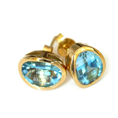 Links of London Topaz and Gold Earrings