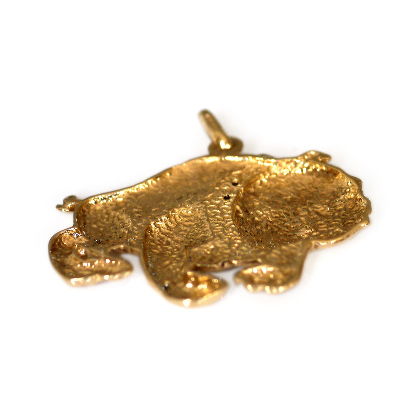 Gold Glorious Gold: Bulldog Pendant
