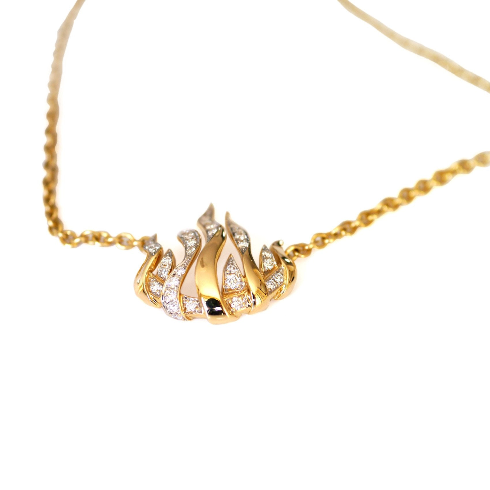 Garrard 'Fire of London' Diamond Necklace