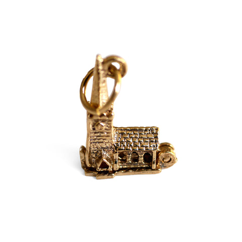 Gold Glorious Gold: Church Pendant / Charm