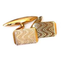 Gold Glorious Gold: Cufflinks