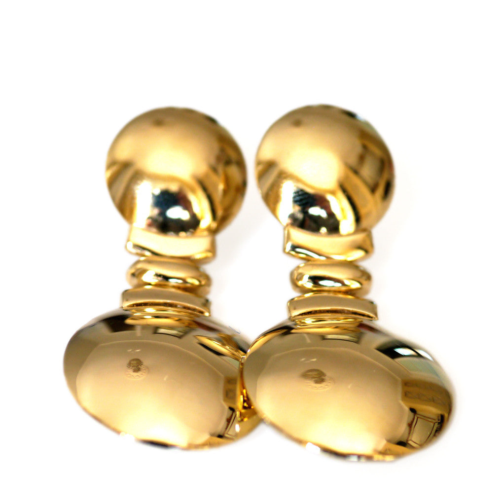 Gold Glorious Gold: Oversized Bold & Beautiful Earrings