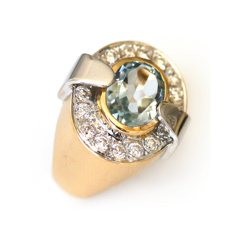 Astounding Aquamarine Ring