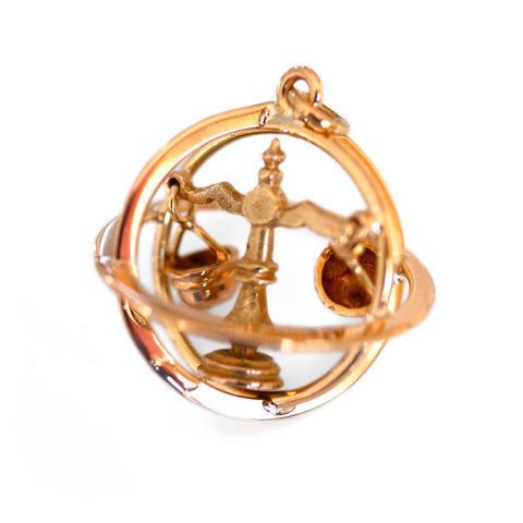 Articulated Lady Justice Libra Pendant