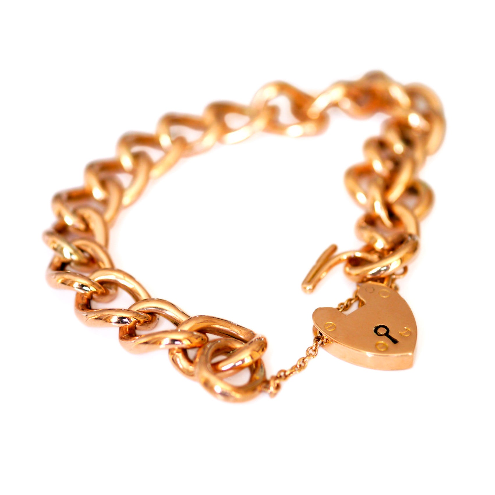locket heart bracelet product close love belcher charm