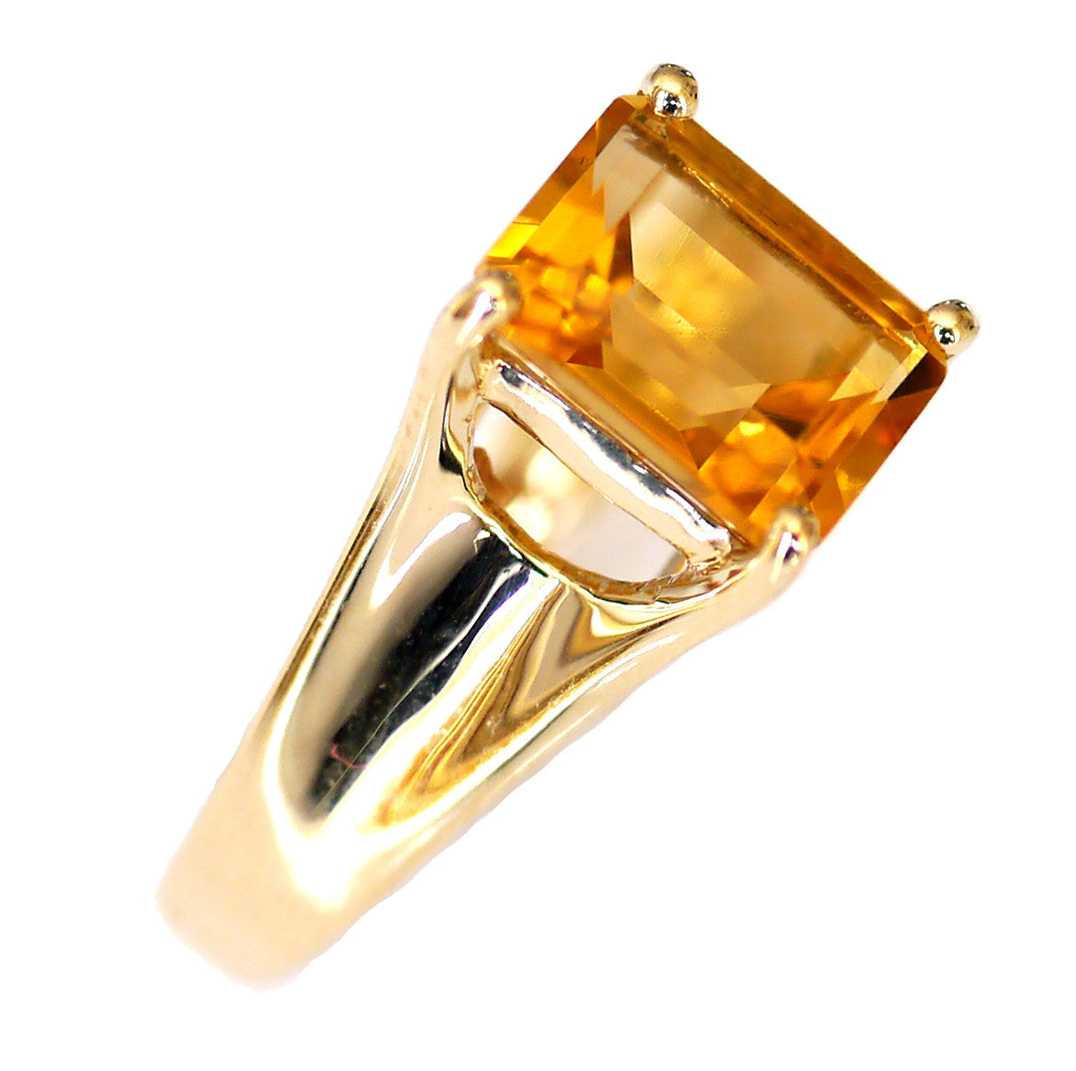 Chic Citrine Ring