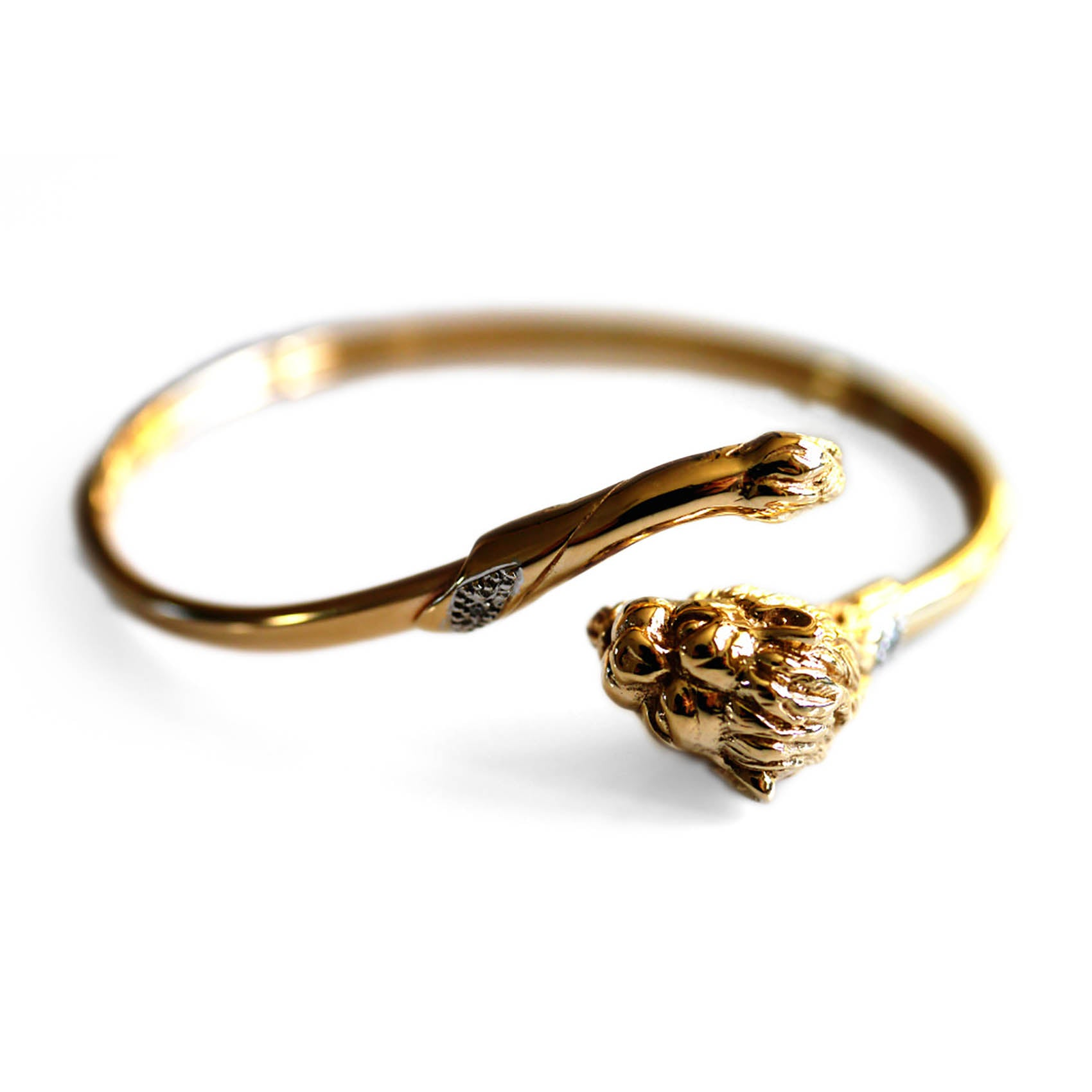 Diamond Vintage Lion Bangle 1991