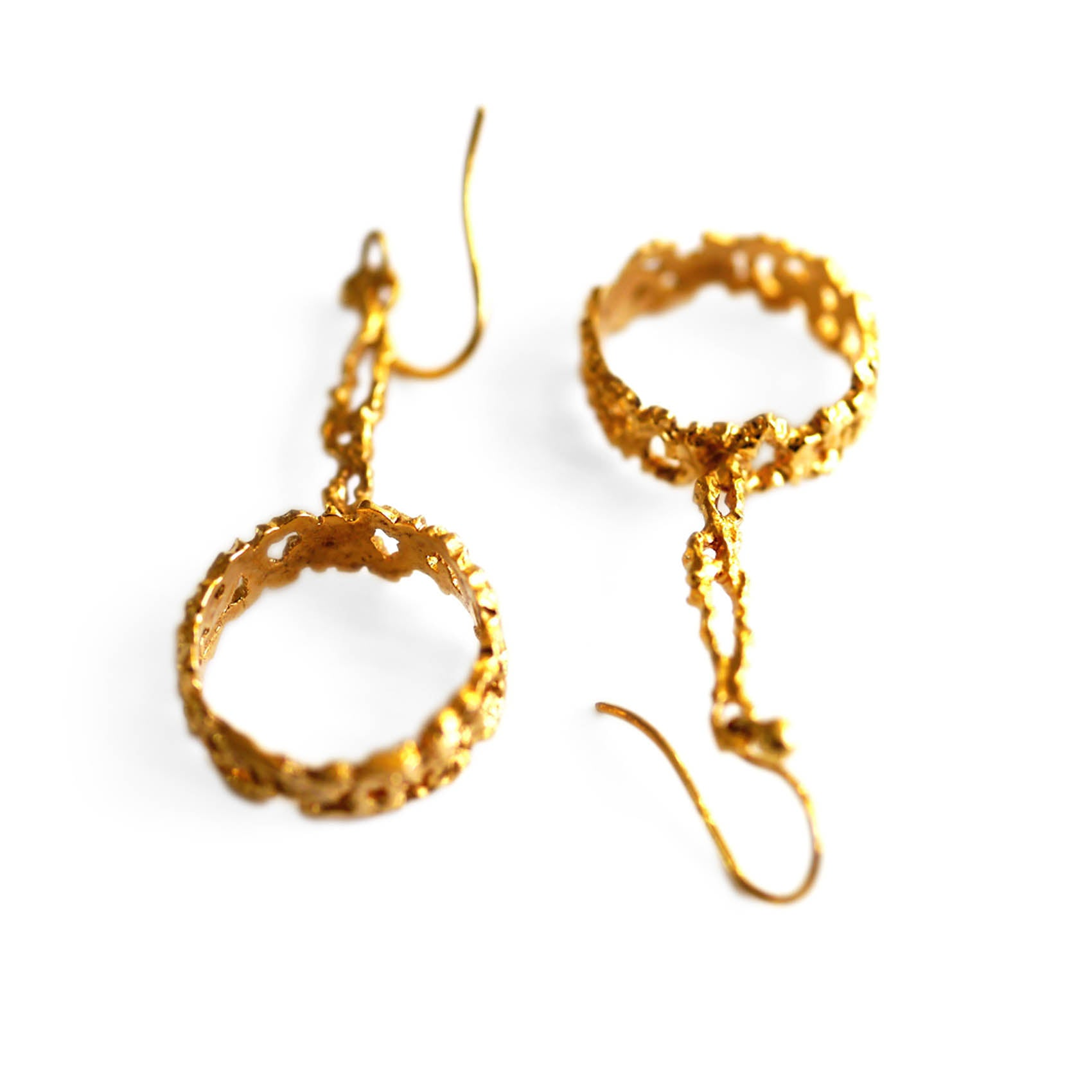 Gold Glorious Gold: The Inner Circle Earrings