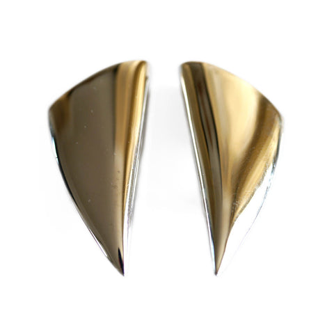 Silver Linings: Tusk Earrings