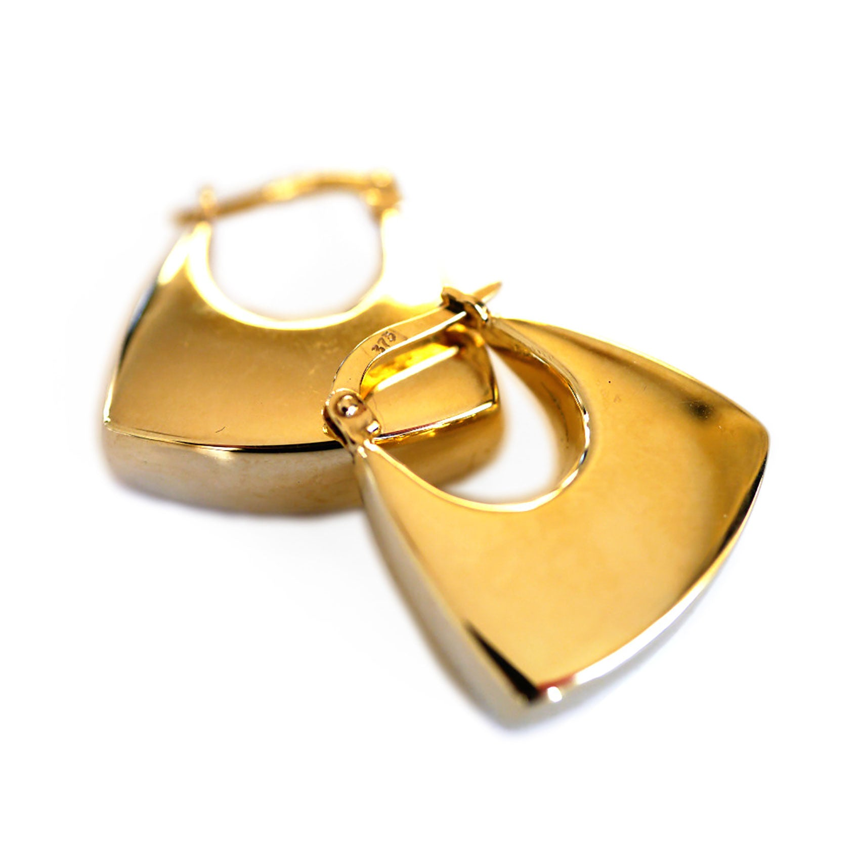 Gold Glorious Gold: Hobo Earrings