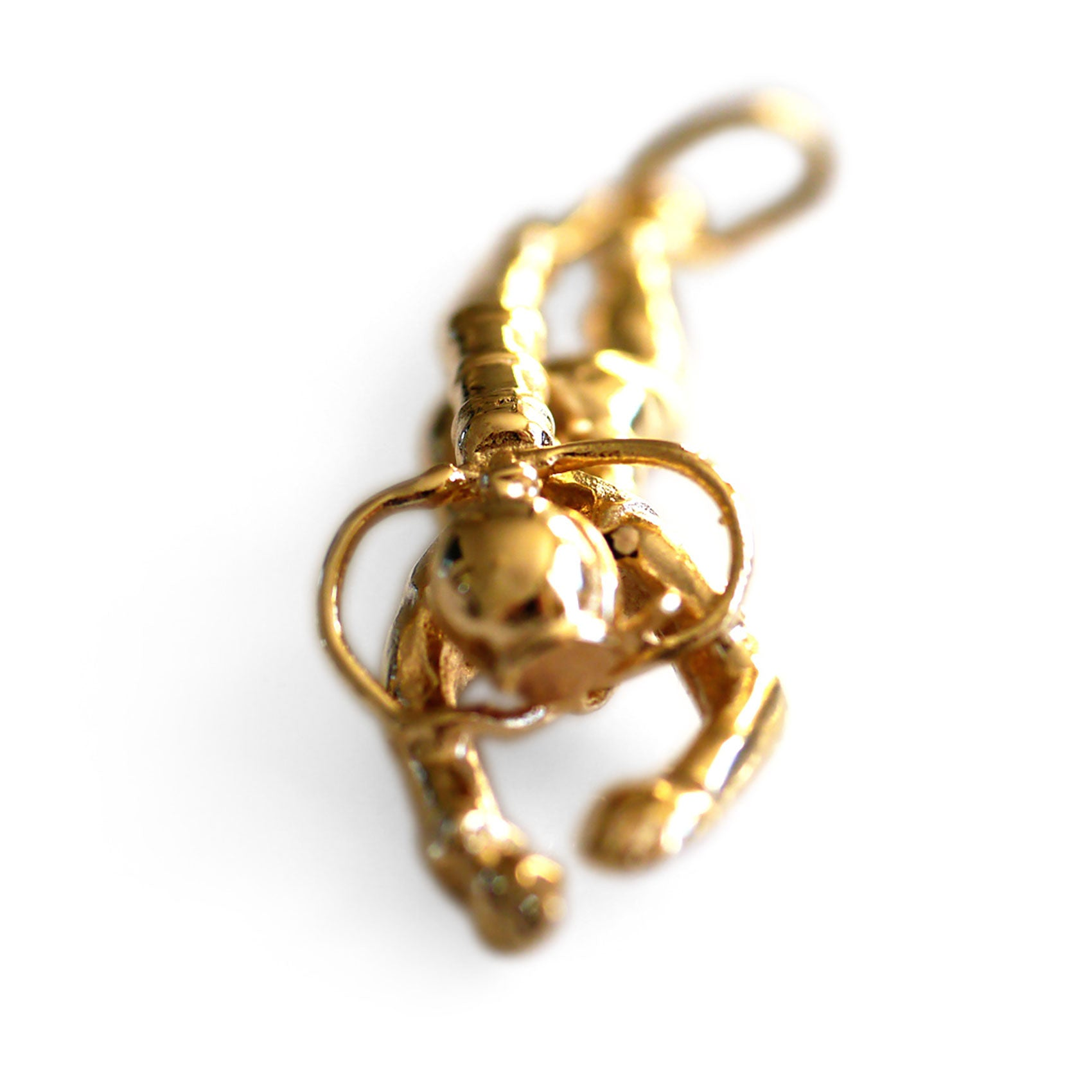 Gold Glorious Gold: Salacia Pendant