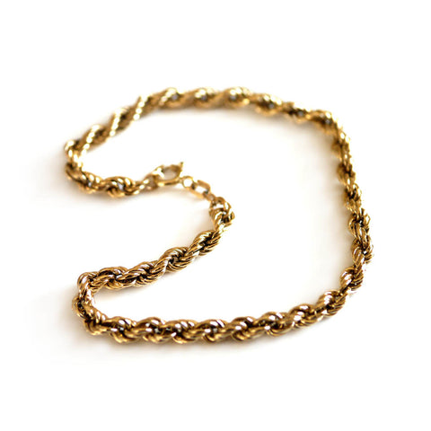Gold Glorious Gold: Rope Bracelet
