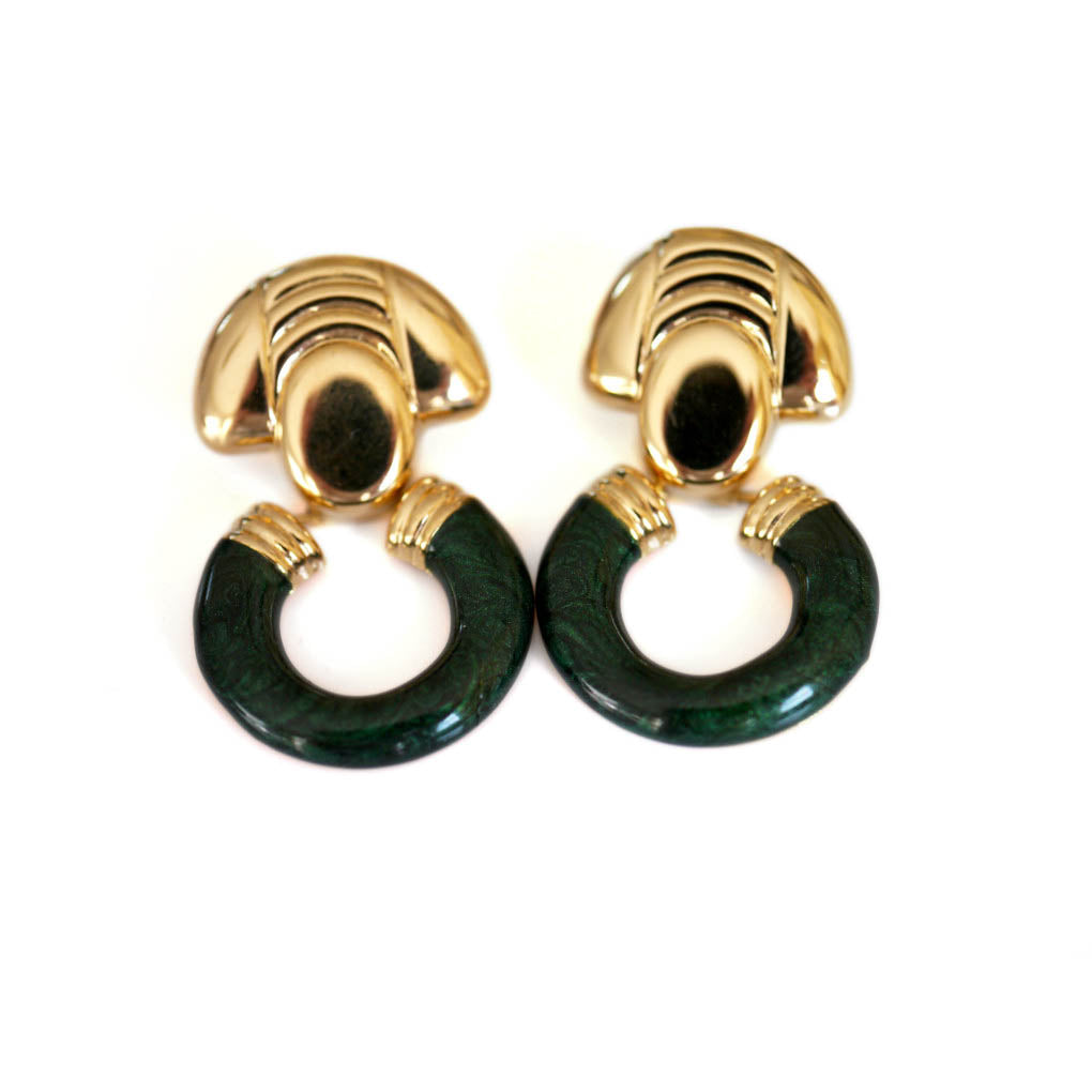 Dolce Vita Vintage Enameled Earrings