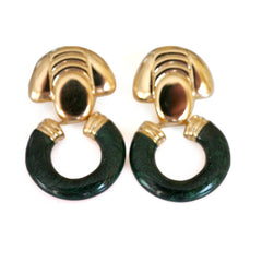 Vintage Jewellery Dolce Vita Enameled Earrings