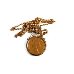 Gold Glorious Gold: 1985 Sovereign Necklace