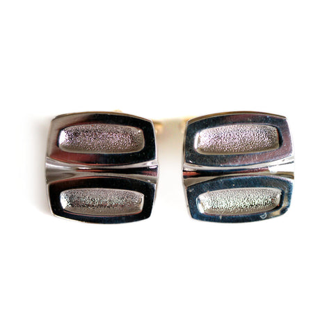 Silver Linings: 1970s Abstract Cufflinks