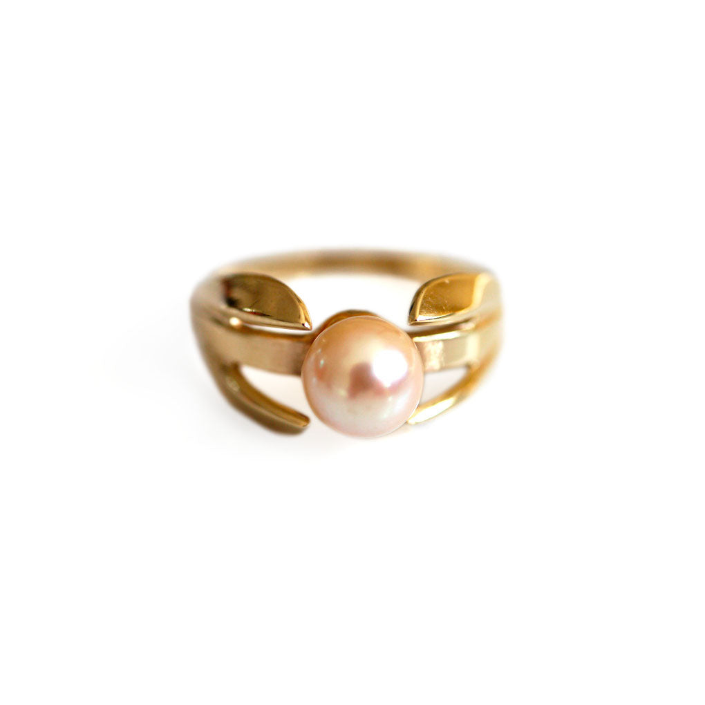 1960s Perfection in a Pearl Ring