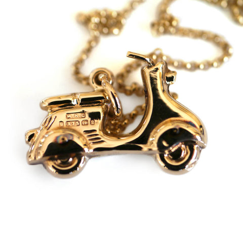 Gold Glorious Gold: 1990 Motorino Necklace