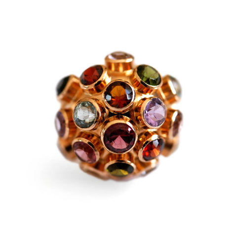 Cornucopia of Colour: Sputnik Ring
