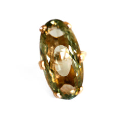 Vintage Prasiolite Cocktail Ring