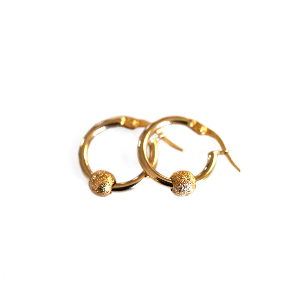 Gold Glorious Gold: Gold Ball Hoops