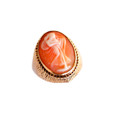 Cameo Goddess Ring
