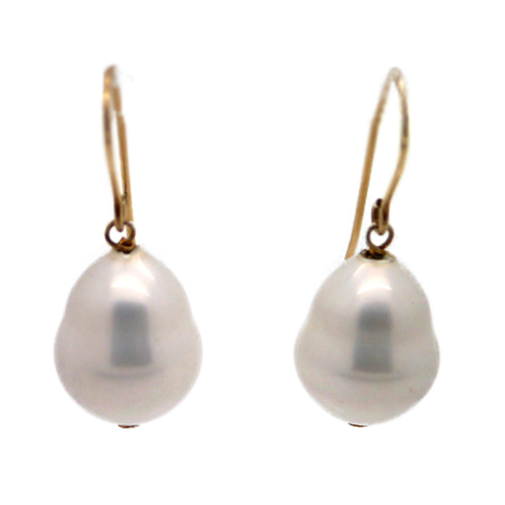 Melissa Lo Baroque Pearl Earrings