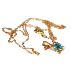 Terrific Topaz Necklace