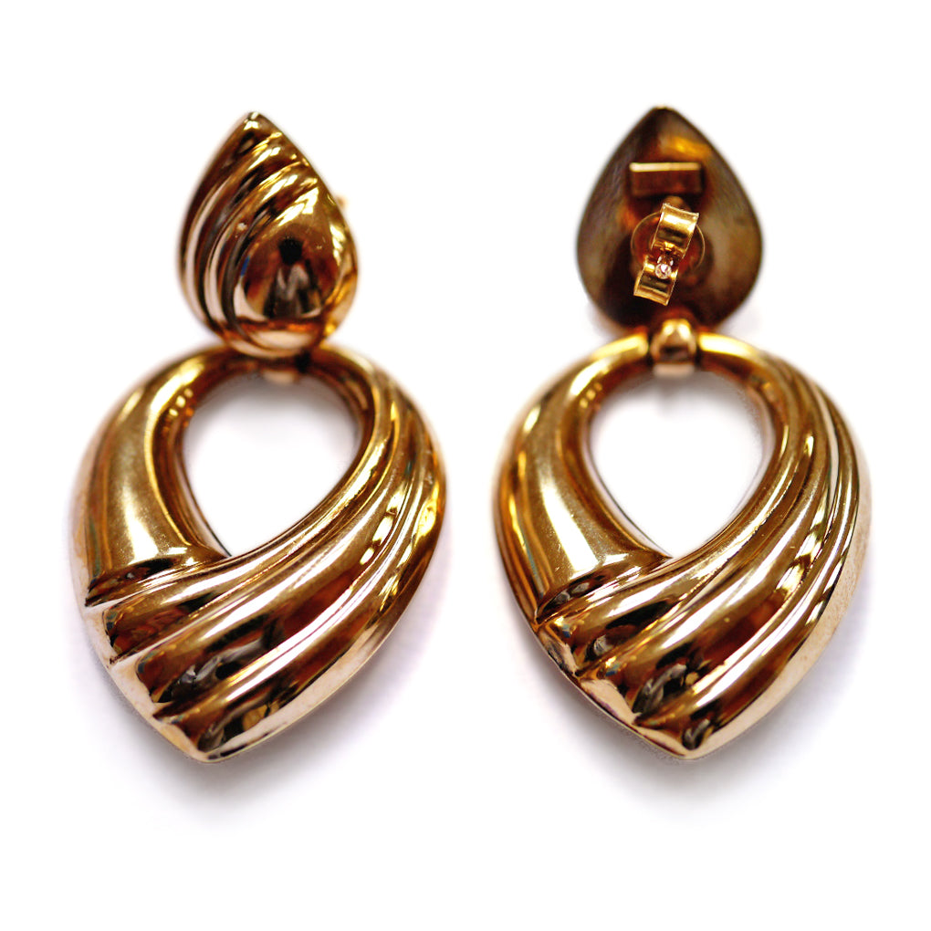 Gold Glorious Gold:  Powerful Gold Earrings