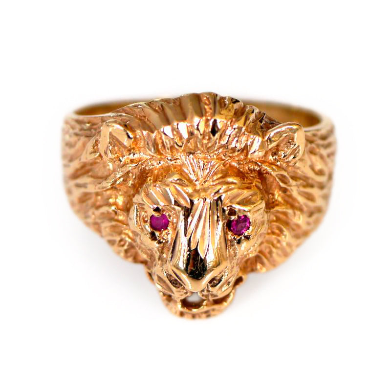 Majestically Magnificent Lion Ring