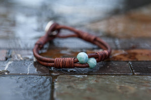 Larimar Signature Series 'Dragonfly' Button Bracelet