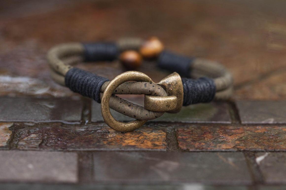 Tiger's Eye Buckle Bracelet