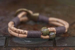Dragon Stone Buckle Bracelet