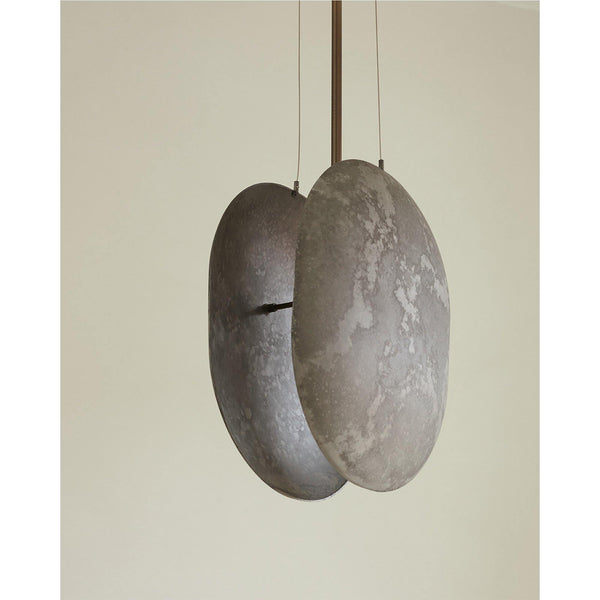 Ceiling lamp Clam, different finishes