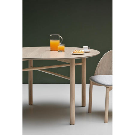 Dining table Junco Ø120cm, natural
