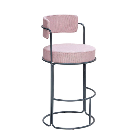 Bar stool Paradiso, seat height 65cm, different colors - Nordic Design Home