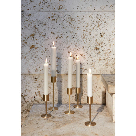 Candlestick Collect SC58, brushed brass