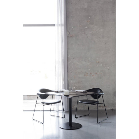 Dining chair Masculo, different fabrics and metal finishes - Nordic Design Home