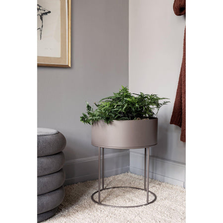 Flower stand / side table Plant Box, Ø40x50cm, different colors