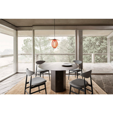 Dining table Epic, Ø130cm, steel, different shades