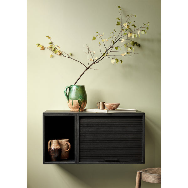 Wall cabinet Hifive 150cm, different wood finishes