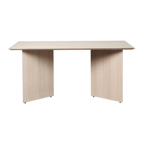 Dining table Mingle with wooden legs, rectangular 160x90cm, different finishes