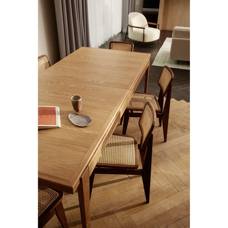 Extendable dining table S-Table, 95x220 / 270 / 320cm, walnut - Nordic Design Home