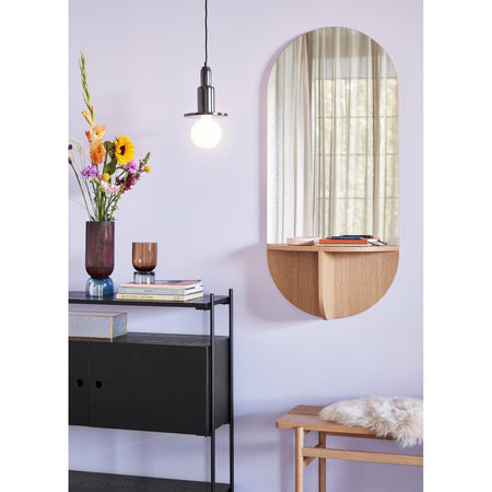 Mirror with shelf Loui