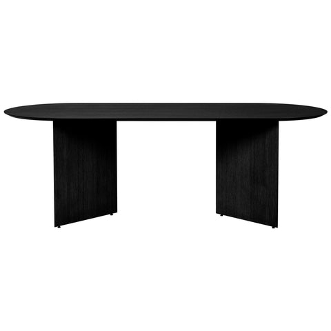 Dining table Mingle with wooden legs, oval 220x90cm, different finishes
