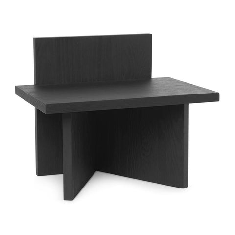 Bench / side table Oblique 40x33cm, different finishes