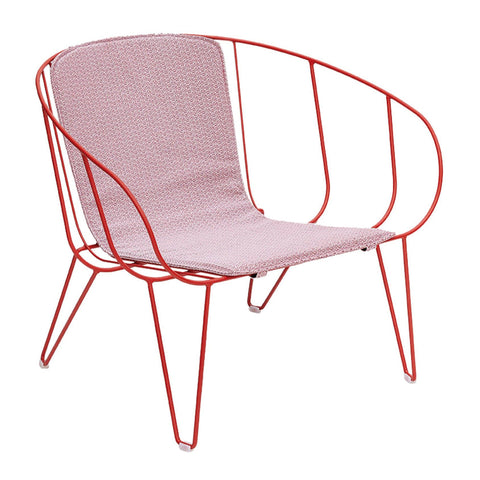 Armchair Olivo Lounge, with cushion, stackable, different colors - Nordic Design Home