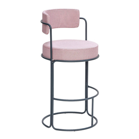 Bar stool Paradiso, seat height 74cm, different colors - Nordic Design Home