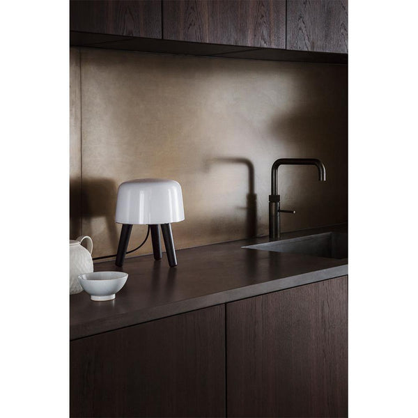 Table lamp Milk NA1, different wood finishes - Nordic Design Home