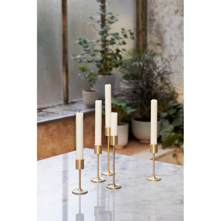 Candlestick Collect SC59, brushed brass